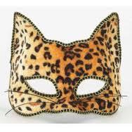 leopard half-mask