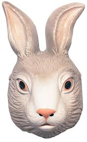vinyl rabbit mask