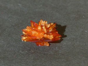 amber -colored crystal
